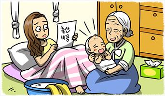 집에서 출산한 국민건강보험 가입자. 출산비용을 받을 수 있을까?